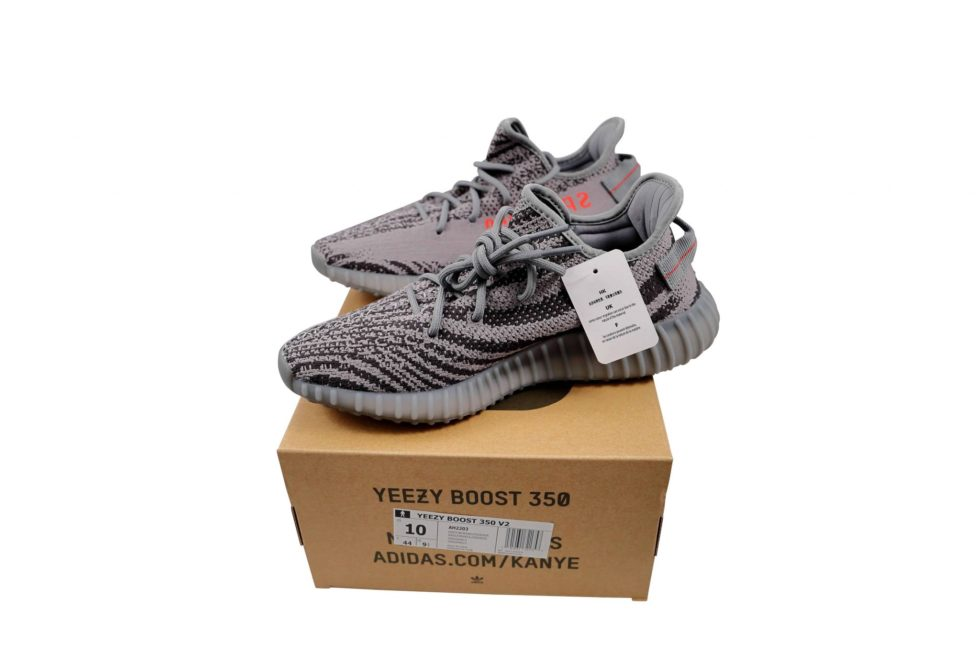 Lot #5199 – Adidas Yeezy Boost 350 V2 Beluga 2.0 AH2203 Size 10 [category] [tag]