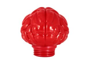 Lot #9109 – Bait x N.E.R.D Brain Lamp Red Art Toys [tag]
