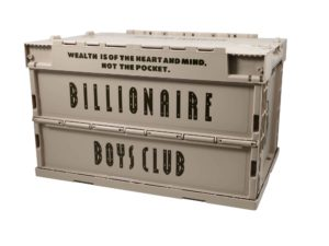 Lot #7129 – Billionaire Boys Club Container Storage Crate Various Billionaire Boys Club