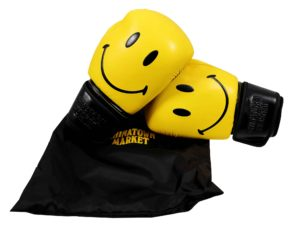 Lot #5718 – Chinatown Market x Smiley Boxing Gloves Various Chinatown Market