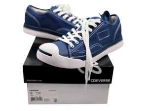 Lot #5776  –  Converse x Fragment x Jack Purcell Shoes Size 10 [category] [tag]