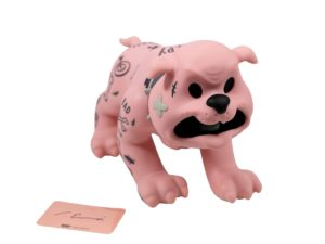 Lot #5175 – Cote Escriva x Thunder Mates Creepy Dog Pink Version Figure [category] Cote Escriva