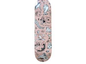 Lot #4168 –  Cote Escriva Creepy Dog Skateboard Skate Deck Skateboard Decks Cote Escriva Creepy Dog
