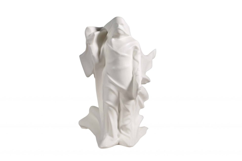 Lot #7586 – Daniel Arsham Hollow Figure Sculpture Resin Limited Edition Art Toys Daniel Arsham