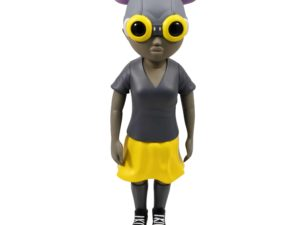 Lot #5180 – Hebru Brantley Lil Mama Mellow Yellow Figure [category] Hebru