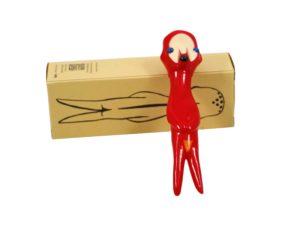 Lot #7072 – Izumi Kato x Perrotin x Linden Toy Soft Vinyl Sculpture Red Art Toys Izumi Kato