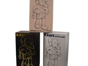 KAWS Clean Slate Set Brown Grey Black