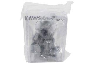KAWS Companion Vinyl Figure Passing Through Grey - Baer & Bosch Auctioneers