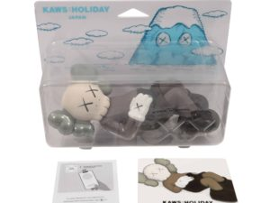 Lot #5212 – KAWS Holiday Japan Vinyl Figure Brown Art Toys KAWS