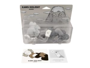 Lot #5184 – KAWS Holiday Japan Vinyl Figure Grey Art Toys KAWS