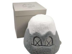 KAWS Holiday Japan Mount Fuji Plush Grey