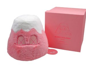 Lot #9069 – KAWS Holiday Japan Mount Fuji Plush Pink Art Toys KAWS