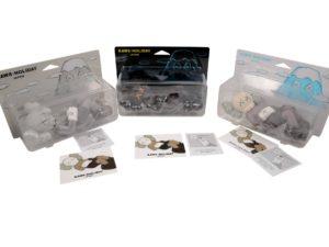 Lot #9085 – KAWS Holiday Japan 3 Vinyl Figure Set Brown, Grey, Black Art Toys KAWS