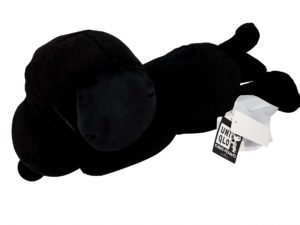 Lot #5179 – KAWS x Peanuts Snoopy Plush Black [category] KAWS