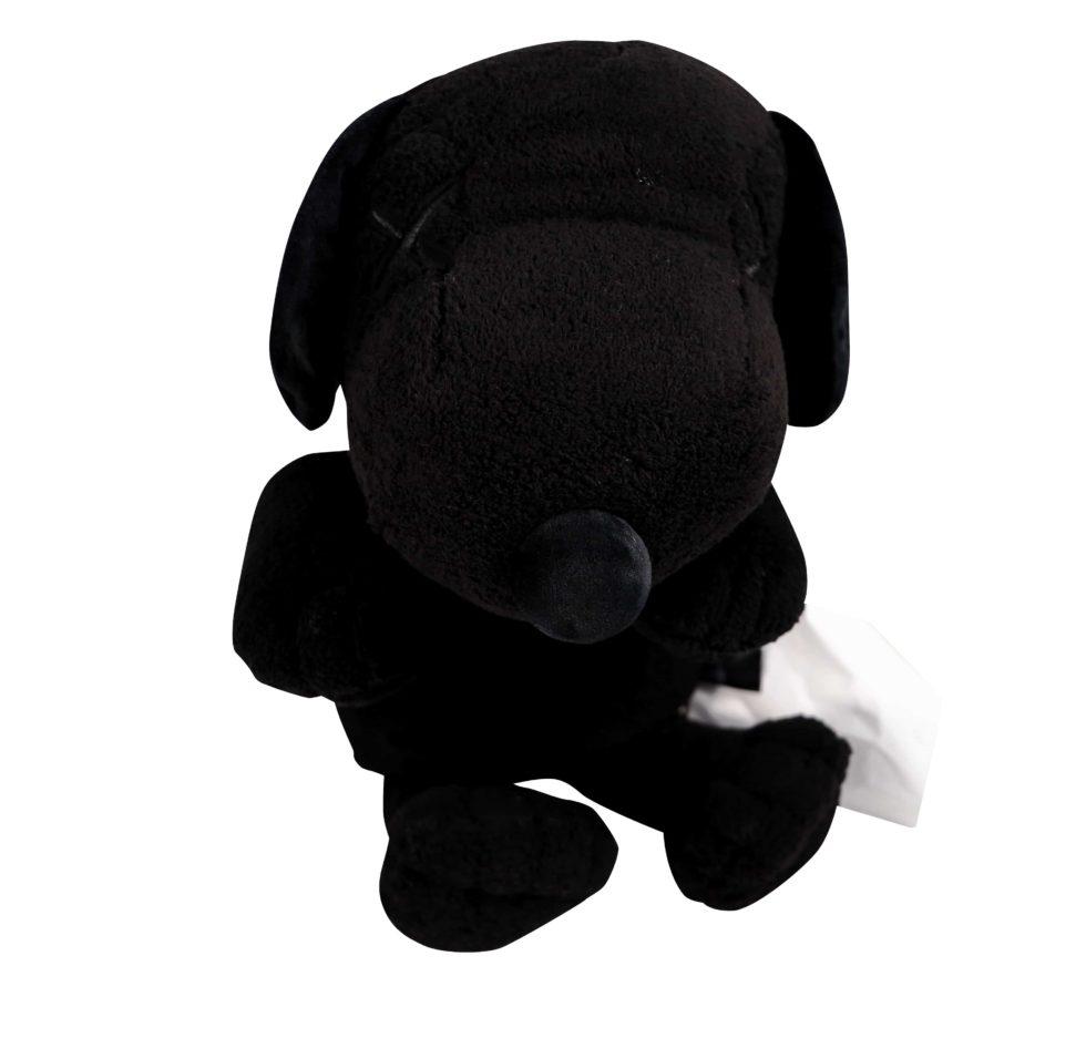Lot #5179 – KAWS x Peanuts Snoopy Plush Black [category] KAWS