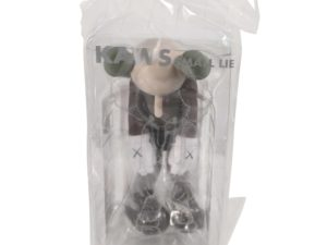 Lot #5192 – KAWS Small Lie Vinyl Figure Brown Art Toys KAWS