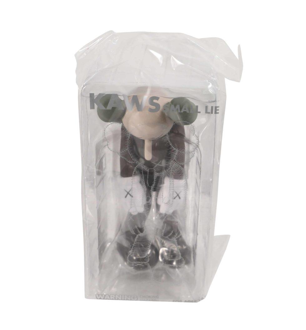 Lot #7165 – KAWS Small Lie Brown Vinyl Figure Sealed Art Toys KAWS