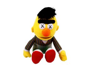 KAWS x Sesame Street Bert - Baer & Bosch Auctioneers