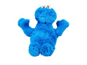KAWS x Sesame Street Cookie Monster - Baer & Bosch Auctioneers