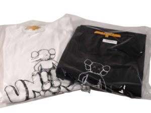Lot #5702 – KAWS x Union Tokyo 2 T-Shirt Set Size XL Various KAWS
