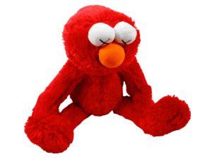 KAWS x Uniqlo Sesame Street Elmo Red