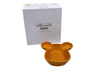 Lot #7126 – Medicom Bearbrick Tray Plate Bowl Yellow Rarities Medicom