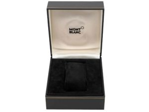 Lot #4821a – Montblanc Watch Box Watch Parts & Boxes Montblanc