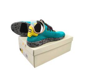 Lot #5734 – Pharrell Williams x Adidas PW Tennis HU Size 10.5 Various [tag]