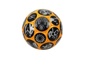 Lot #5233 –   Ryan McGinness Soccer Ball [category] [tag]