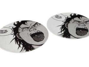 Lot #5176 – Supreme x AKIRA Pill Ceramic Plate Set of 2 [category] AKIRA