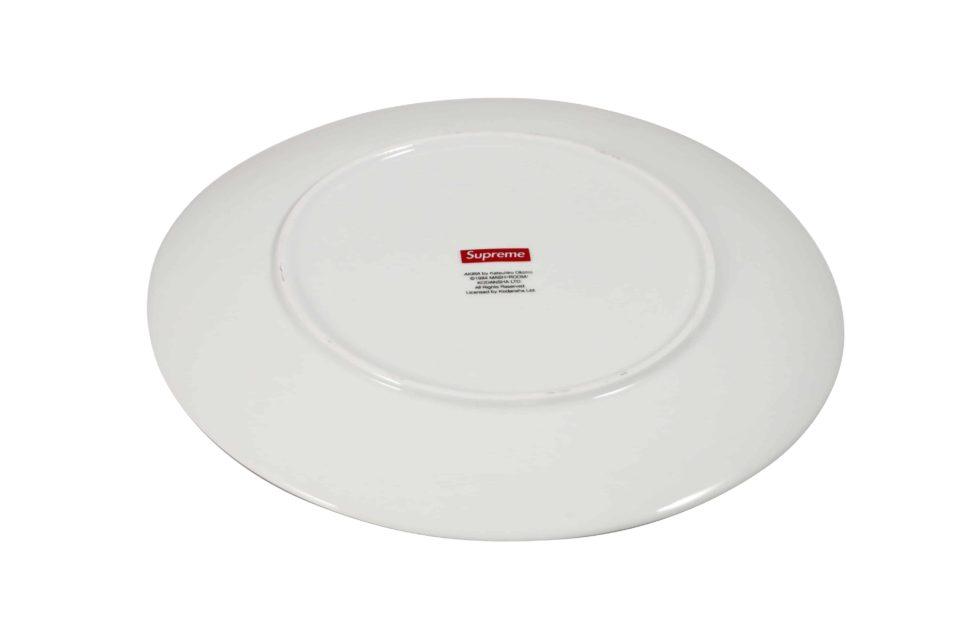 Lot #7089 – Supreme x AKIRA Pill Ceramic Plate White Rarities AKIRA