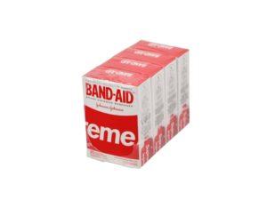 Lot #8785 – Supreme x Band Aid Adhesive Bandages 4 Box Pack Various [tag]