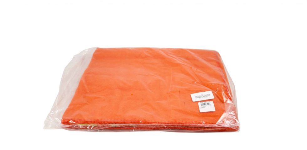 Lot #9314 – Supreme x Woolrich Wool Throw Blanket Orange Various Supreme x Woolrich