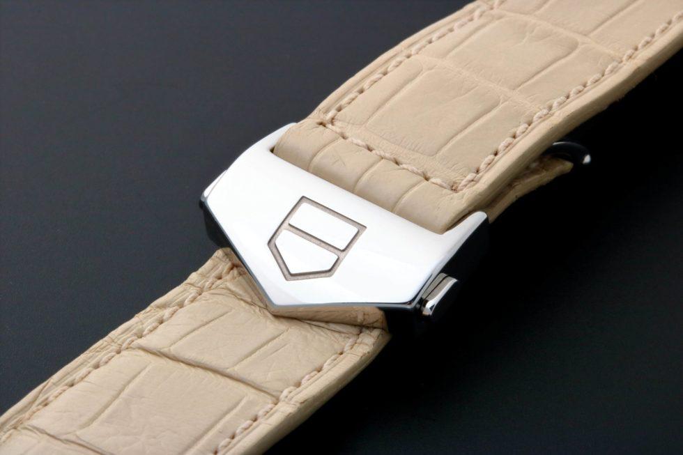 Lot #3249A – Tag Heuer Monaco Alligator Watch Strap 22MM FC5028 Tag Heuer 22mm