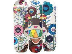 Lot #5711 – Takashi Murakami x ComplexCon Eden Skateboard Skate Deck Triptych Set Skateboard Decks Takashi Murakami