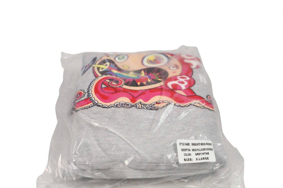 Lot #5222 –  Takashi Murakami x ComplexCon Flower Graduate Hoodie XL [category] [tag]