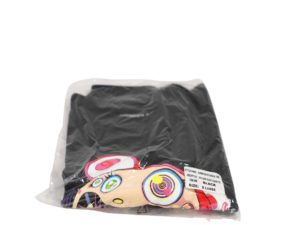 Lot #8567 – Takashi Murakami x ComplexCon Graduate Black Tee XL Various [tag]