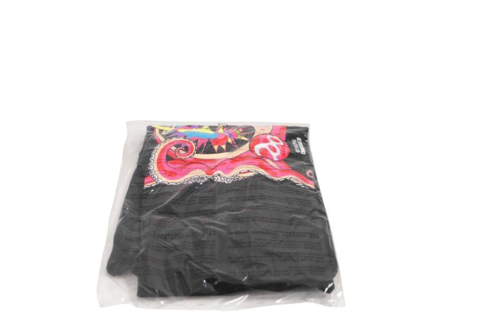 Lot #8808 – Takashi Murakami x ComplexCon Graduate Black Tee XL Various [tag]