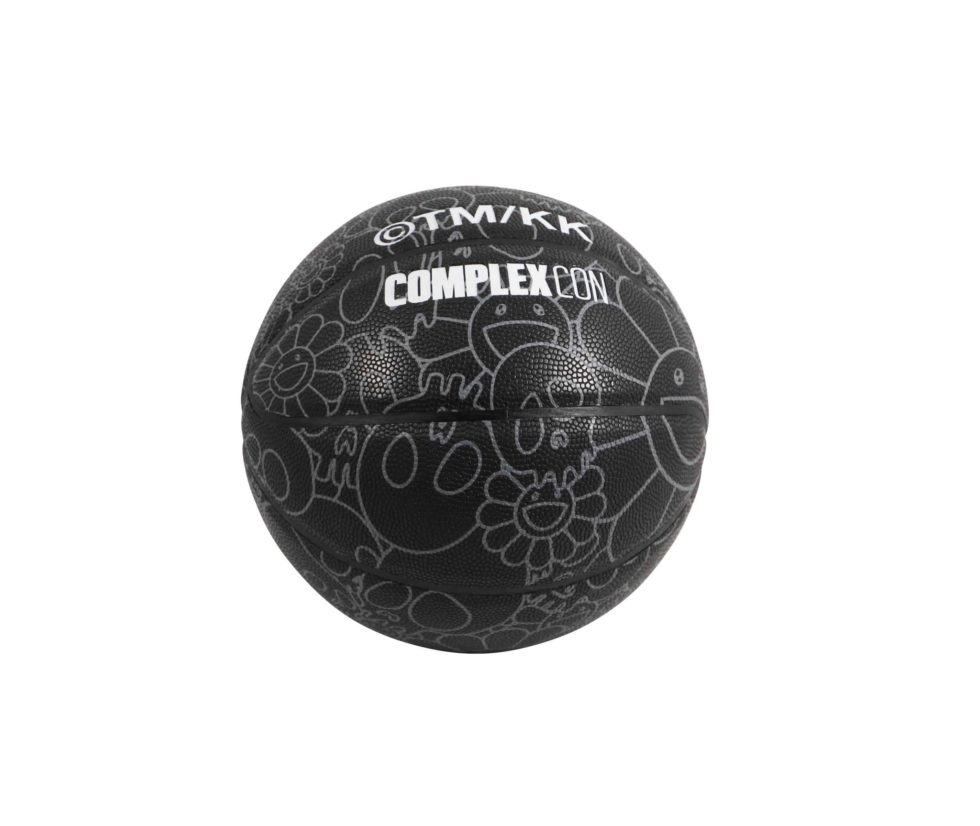 Lot #5213 – Takashi Murakami x ComplexCon Skulls Flowers Basketball [category] [tag]