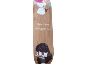 Lot #5756 – Takashi Murakami Kaikai Kiki Iikoto-chang Waruikoto Skateboard Skate Deck Skateboard Decks [tag]
