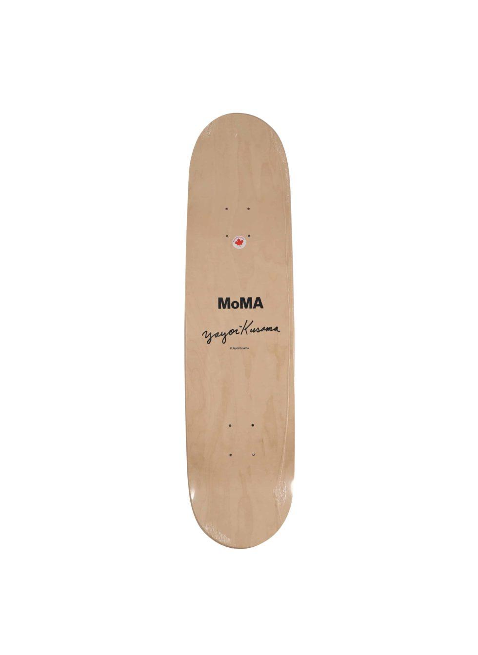 Lot #9827 – Yayoi Kusama Red Dots Big Skateboard Skate Deck Skateboard Decks Yayoi Kusama Skateboard