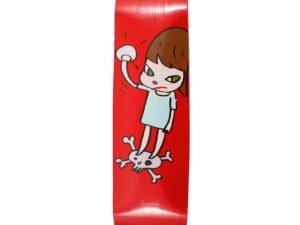 Lot #5717 – Yoshitomo Nara Solid Fist Skateboard Skate Deck Skateboard Decks [tag]