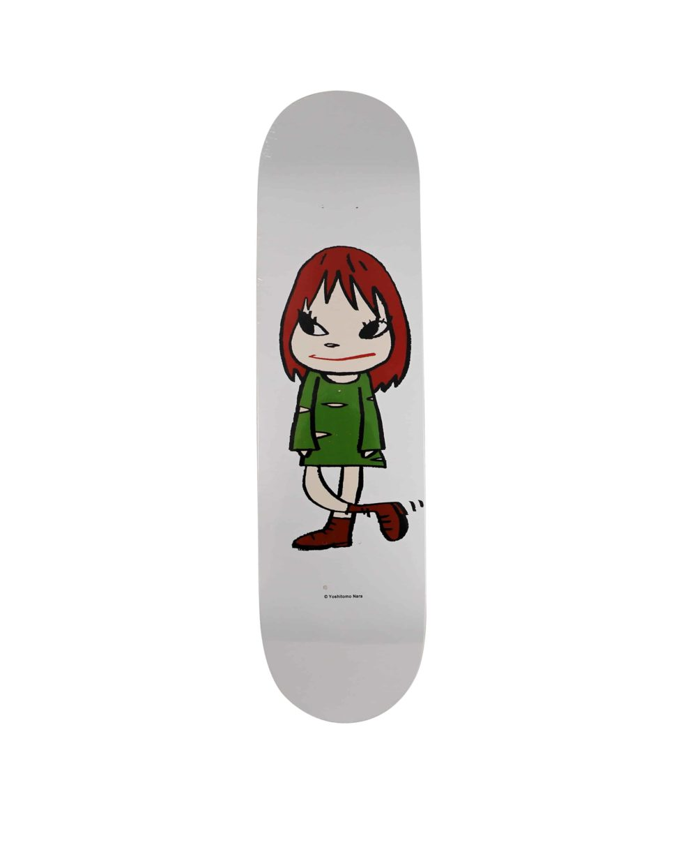 Lot #9834 – Yoshitomo Nara Welcome Girl Skateboard Skate Deck Skateboard Decks [tag]