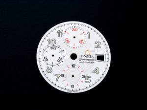 Lot #11030B – Omega 3513.33 Speedmaster Mark 40 Silver Dial Parts 3513.33 Omega 3513.33 Dial