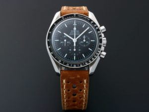 Lot #5616 – Omega Speedmaster Professional Sapphire Back Watch 3572.50 Moon Hesalite Sandwich Speedmaster