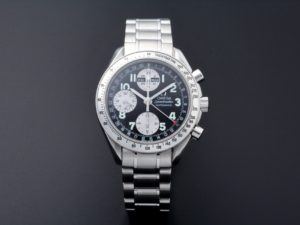 Lot #7589 – Special Edition Omega 3523.51 Speedmaster Triple Calendar Japanese Market Watch 3523.51 Omega 3523.51.00