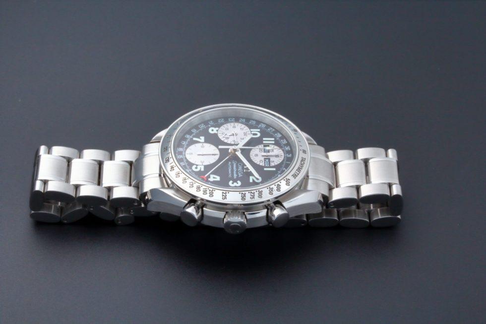 Lot #9217 – Special Edition Omega Speedmaster Triple Calendar Watch 3523.51 Japanese 3523.51 Omega 3523.51.00