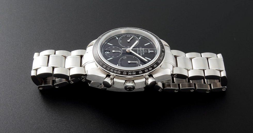 Lot #5610 – Omega Speedmaster Racing Co‑Axial Watch 326.30.40.50.01.001 Omega Omega 326.30.40.50.01.001