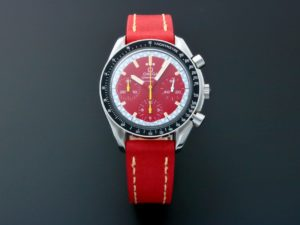 Lot #5602 – Omega Speedmaster Red Schumacher Chronograph 3510.61 Omega Omega 3510.61.00