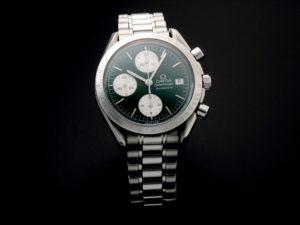 Omega Speedmaster Date Green Jade Watch 3511.70 - Baer & Bosch Auctioneers